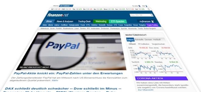 In eigener Sache: Bessere Daten und neue Funktionen auf finanzen.net | Nachricht | finanzen.net