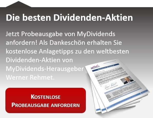 Börsenbrief zu Dividenden-Aktien | MyDividends