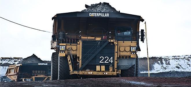 Umsatz- und Gewinnwachstum: Caterpillar verfehlt Erwartungen - Aktie fällt kräftig | Nachricht | finanzen.net
