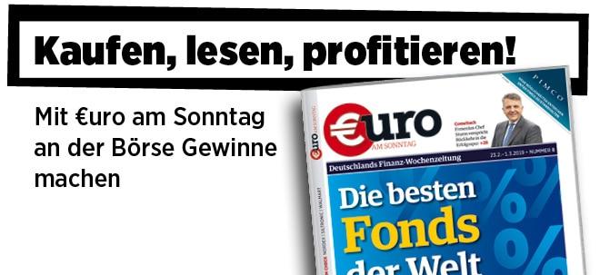 Hier steht alles drin!: Pflichtblatt für Ihr Geld: Neue €uro am Sonntag jetzt wieder im Handel | Nachricht | finanzen.net