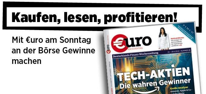 Pflichtblatt für Ihr Geld!: Neue €uro am Sonntag: Tech-Aktien: Amazon, Apple & Co - welche Werte  langfristig in jedes Depot gehören | Nachricht | finanzen.net