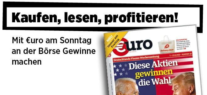 Jetzt immer freitags: Neue Ausgabe von €uro am Sonntag: Jahrhundertwahl in den USA - Diese Aktien gewinnen die Wahl | Nachricht | finanzen.net