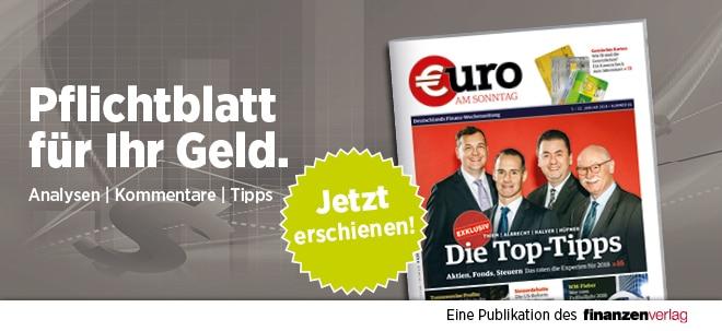 Hier steht alles drin!: Wieder da! Pflichtblatt für Ihr Geld: Neue €uro am Sonntag | Nachricht | finanzen.net