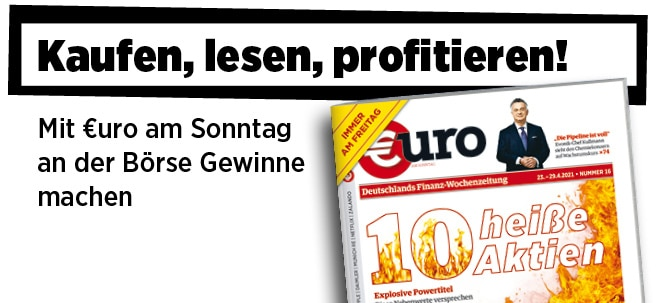 Jetzt immer freitags: Neue Ausgabe von €uro am Sonntag: Diese 10 Aktien versprechen ein wahres Kursfeuerwerk | Nachricht | finanzen.net
