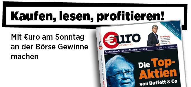Hier steht alles drin!: Pflichtblatt für Ihr Geld: Neue €uro am Sonntag wieder im Handel | Nachricht | finanzen.net