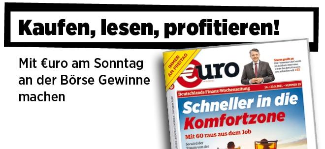 Jetzt immer freitags: Neue Ausgabe von €uro am Sonntag: Mit 60 raus aus dem Job - So wird der Traum von der frühen Rente wahr   Nachricht   finanzen.net