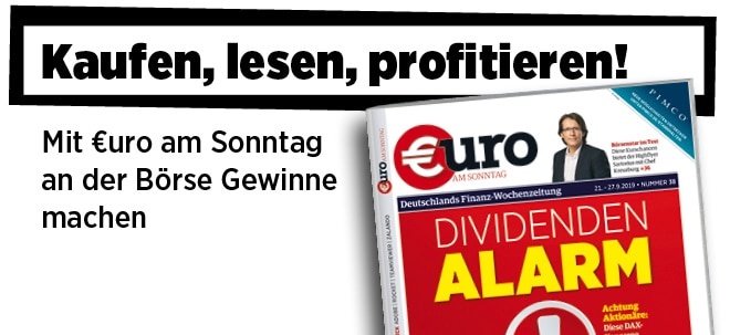 Neue Ausgabe von €uro am Sonntag: Achtung Aktionäre, Dividenden-Alarm!