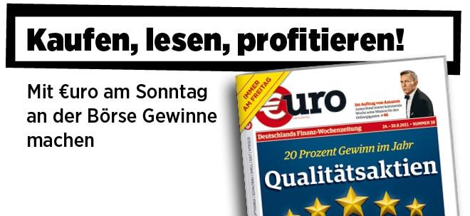 Freitags neu im Handel: Neue Ausgabe von €uro am Sonntag   Nachricht   finanzen.net