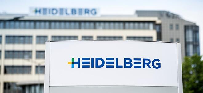 Vorstand verkleinert: Heidelberger Druck-Aktie klettert kräftig: Heidelberger Druck verbessert Ergebnis | Nachricht | finanzen.net