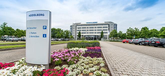 Umsatz und Gewinn gestiegen: HeidelDruck-Aktie bricht ein: Heidelberger Druck sieht sich beim Umbau in der Spur | Nachricht | finanzen.net