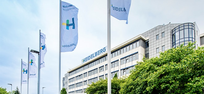 Schwaches Quartal: Heidelberger Druck-Aktie bricht nach Gewinnwarnung ein | Nachricht | finanzen.net