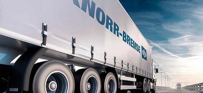 Prognose bestätigt: Knorr-Bremse-Aktie etwas leichter: Knorr-Bremse bleibt auf dem Gaspedal | Nachricht | finanzen.net