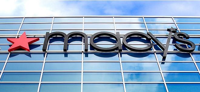 Auch Umsatzprognose gesenkt: Macy's-Aktie stürzt nach Gewinnwarnung ab   Nachricht   finanzen.net