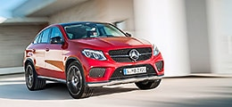 Das ist das Mercedes-Benz GLE Coupé