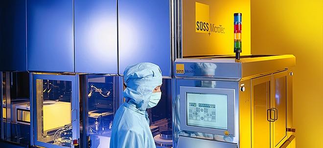 Starke Nachfrage: SÜSS MicroTec-Aktie zweistelig im Sinkflug: SÜSS MicroTec steigert Erlös im ersten Halbjahr | Nachricht | finanzen.net