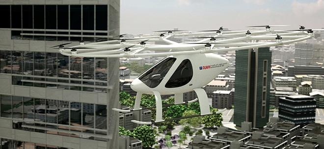 Interview: Chef von Flugtaxi-Startup Volocopter - Werden mehr Geld brauchen | Nachricht | finanzen.net