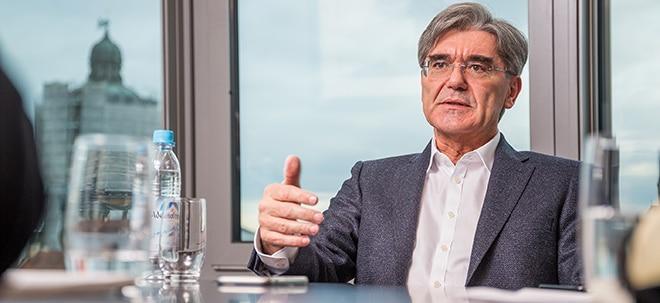 Euro am Sonntag-Aktien-Check: Siemens-Aktie: Joe Kaesers Zeitenwende im Traditionskonzern | Nachricht | finanzen.net