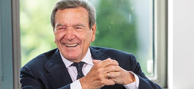 """Euro am Sonntag-Interview: Gerhard Schröder: """"Ich besitze genau zwei Aktien""""   Nachricht   finanzen.net"""
