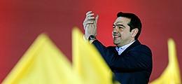 Griechischer Wahlsieger Tsipras: Sparauflagen der Troika sind Geschichte