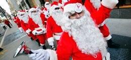 Banker feiern wieder Weihnachten - ein bisschen