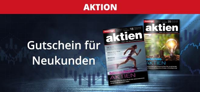 aktien-Magazin - jetzt Gutschein im Wert von 173 € sichern   Nachricht   finanzen.net