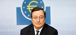 EZB bremst Euro aus: Draghi sieht starken Euro als Abwärtsrisiko für Inflation | Nachricht | finanzen.net