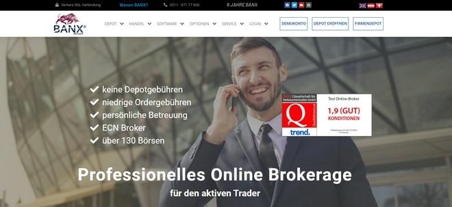 BANX Broker Test und Erfahrungen