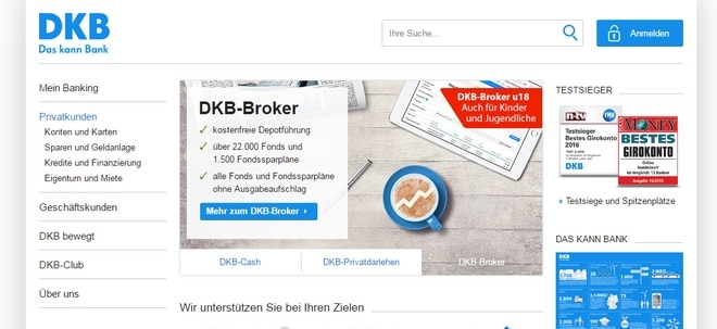E stiftung warentest online brokers