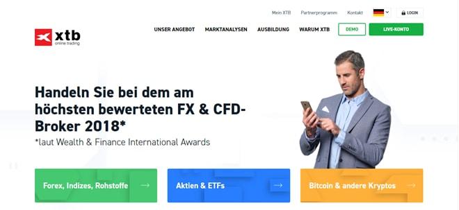 XTB Test und Erfahrungen (X-Trade Brokers)