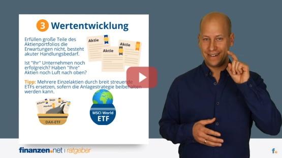 Video: Jetzt Depotcheck machen - wie Anleger ihr Wertpapierdepot optimieren und die Rendite steigern