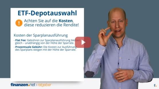 Video: ETF-Sparplan-Vergleich 2021 - das beste ETF-Depot und kostenlose ETF-Sparpl�ne | Depot-Vergleich