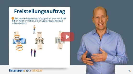 Video: Freistellungsauftrag - so umgehen Anleger und Sparer die Abgeltungssteuer!