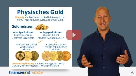 Video: Gold kaufen - die besten Wege zum Goldinvestment