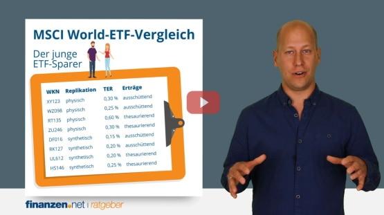 Video: MSCI World-ETF-Vergleich - so finden Sie den besten ETF Fonds auf den MSCI World-Index!
