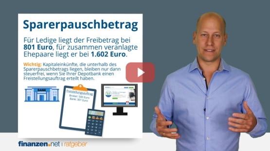 Video: Steuern sparen beim Aktienhandel - mit Freibetrag und Steuererklärung Kapitalerträge zurückholen