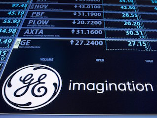 : General Electric spikes after announcing plans to speed up the sale of some of its $4 billion stake in oilfield-services provider Baker Hughes (GE, BHGE)