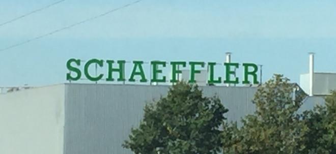 Schaeffler-Aktie aktuell: Schaeffler in Rot