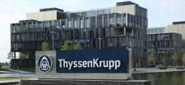 ThyssenKrupp im Visier: Durchsuchungen von Büros bei ThyssenKrupp | Nachricht | finanzen.net