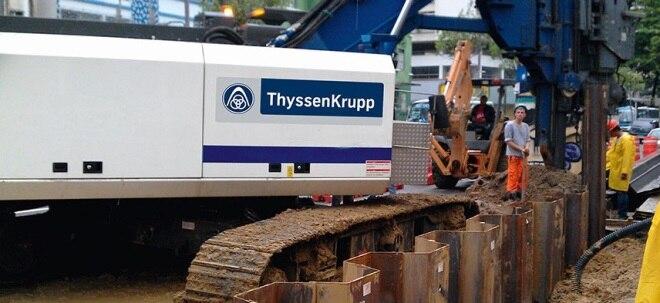 Vertrag verlängert: Heinrich Hiesinger bleibt an der Spitze von ThyssenKrupp | Nachricht | finanzen.net