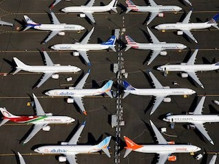 : Boeing's credit outlook was just cut to 'negative' by a ratings agency, which cited the 737 Max crisis (BA)