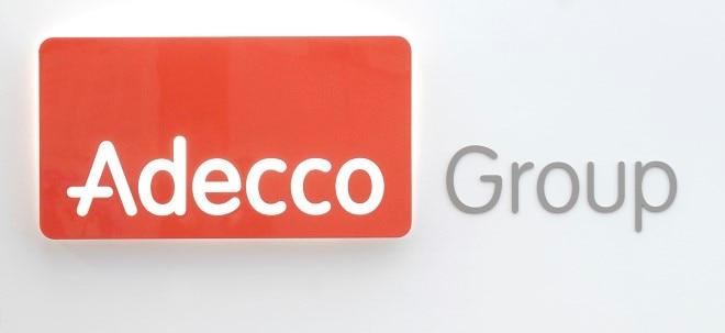 Adecco schrumpft auch im Schlussquartal - Adecco-Aktie dennoch fester