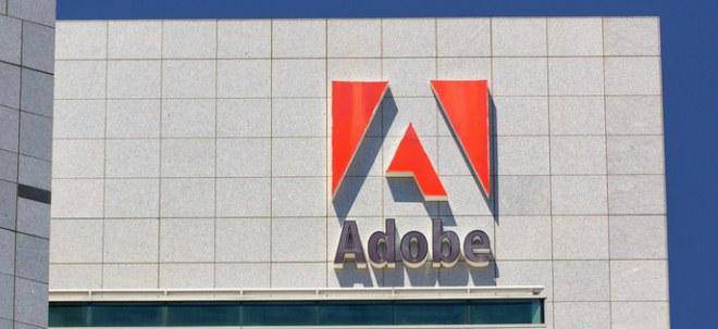 Florierende Nachfrage: Adobe-Aktie schießt hoch: Wall Street von Prognosen für 2018 überzeugt | Nachricht | finanzen.net