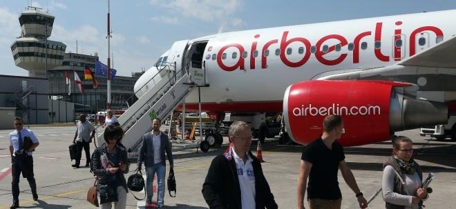 Ohne Staatshilfen: Luftfahrtverband setzt sich für Überleben von Air Berlin ein | Nachricht | finanzen.net