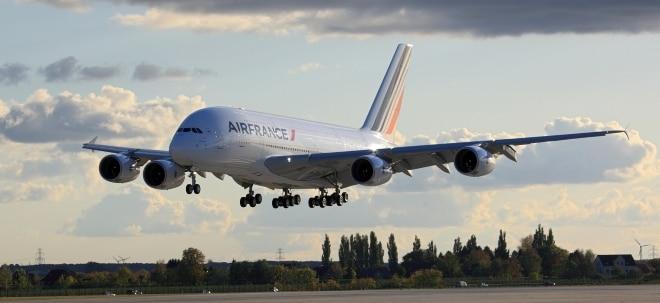 Treibstoffkosten steigen: Air France-KLM mit mehr Gewinn - Aktien verlustreich | Nachricht | finanzen.net