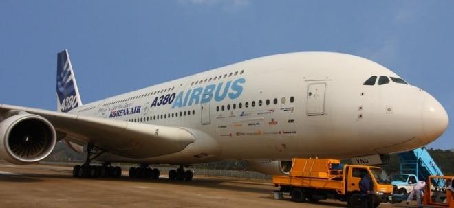 Wegen schwachem Dollar: Airbus-Aktie gibt nach: Credit Suisse warnt vor trüben Gewinnaussichten | Nachricht | finanzen.net