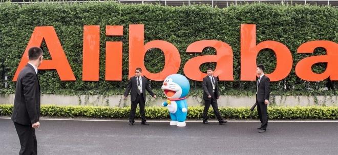 Bilanz am Mittwoch: Ausblick: Alibaba präsentiert Bilanzzahlen zum jüngsten Jahresviertel | Nachricht | finanzen.net