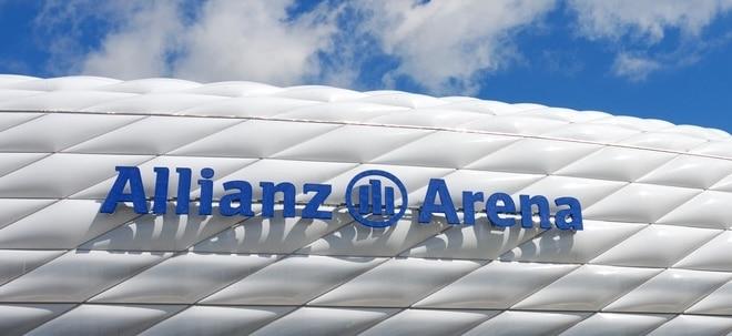 Übernahmeziel?: Allianz-Aktie freundlich: Allianz prüft wohl Gegenangebot für Hartford Financial | Nachricht | finanzen.net
