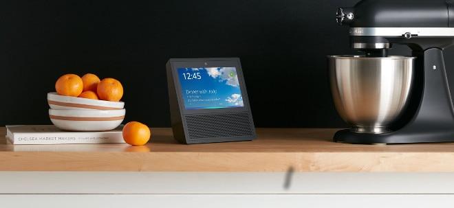 Erster Kunde gefunden: Amazon-Aktie gibt Gewinne ab: Amazon macht Alexa-Technik für fremde Sprachassistenten verfügbar | Nachricht | finanzen.net