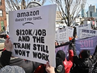 : Amazon recovers share losses after cancelling its HQ2 project in New York City (AMZN)