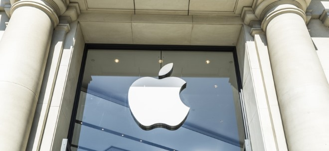 Teuerster Börsenwert: Apple-Aktie schreibt Rekord: Apple knackt Billion-Dollar-Marke - was den iKonzern bisher ausbremste | Nachricht | finanzen.net